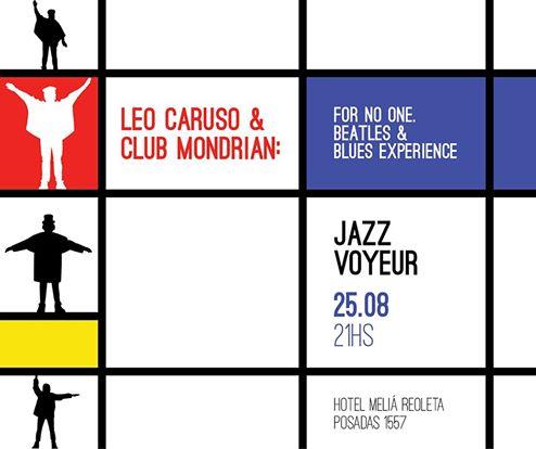 Mondrian jazz Voyeur Beatles